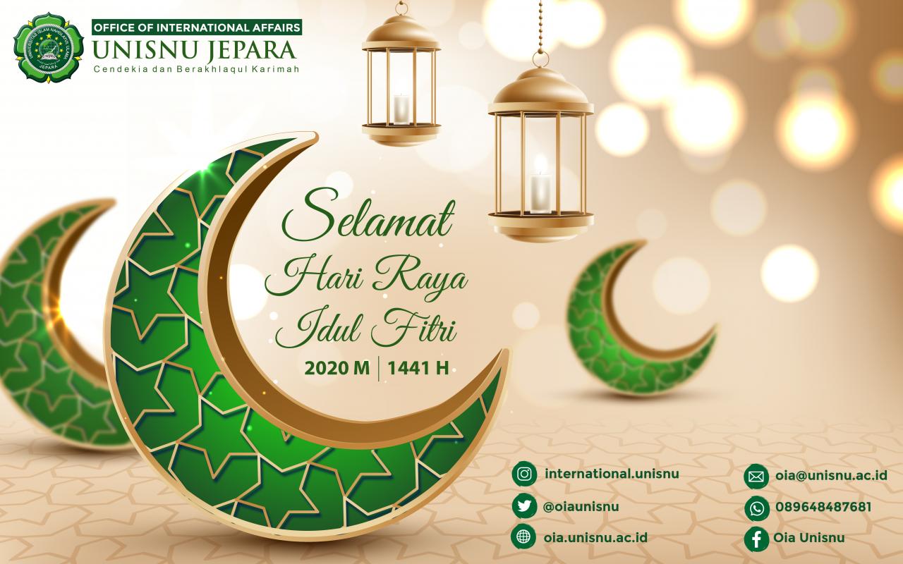 Selamat Hari Raya Idul Fitri 1441 Hijriyah