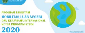 Program Fasilitasi Mobilitas Luar Negeri dan Kerjasama Internasional Ka. Prodi 2020