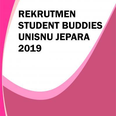 Recruitment of Student Buddies UNISNU Jepara 2019