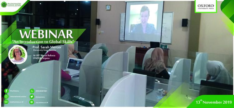 To Enhance Students' Global Insights, OIA facilitated them joining Webinar Oxford University Press November 2019